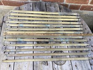 Antique French Brass stair  Rods