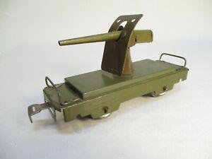 Marx 572 Army Field Gun Car OD Prewar O Gauge X4323