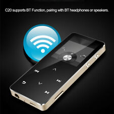 Bluetooth MP3 Player HiFi Metal Music Player 8GB  FM Radio 1.8Inches Screen R5E1