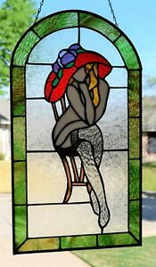 Stained Glass Window Panel (14 x 25)