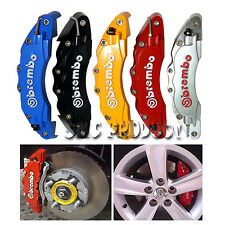 4pc Red 3D Style Race Brake Caliper Cover Disc Red Car Front & Rear TRD BMW