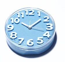 Orologi e sveglie da casa Blu a batteria in plastica
