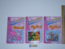 Gloria Doll House Furniture/ (9502-1, 9502-2, 9502-3) Play Foods & Utensil Set