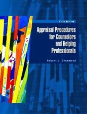 Appraisal Procedures for Counselors and Helping Professionals by. Drummond 5th