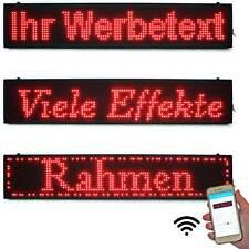 LED-Anzeigetafeln Laufschrift LED-Display 99x19 Rot WiFi  Indoor kaufen günstig