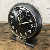 Westclox Big Ben Clock Vintage LOUD ALARM Black Art Deco La Salle USA WORKS B3