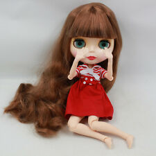 """Takara 12"""" Neo Blythe Long Hair Joint body Nude Doll from Factory TBY214"""