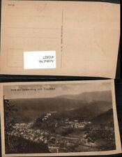 432427,Blick auf Schwarzburg Totale vom Trippstein