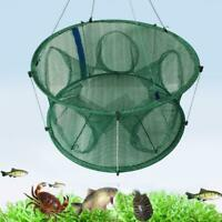 Automatic Fishing Net Trap Cage Round Shape Open For Crab Crayfish