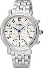 Seiko SRW875 SRW875P1 Ladies Chronograph Watch NEW WR50m RRP $625.00