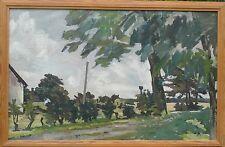 Expressionist-søren Birk petersen-procurée jour-peinture huile 122x80,5cm
