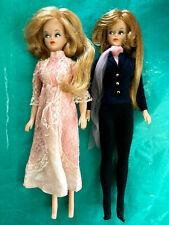 Tressy Grow Hair Vtg Barbie Doll Lot 2 Blonde Red Hair