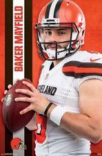 BAKER MAYFIELD Cleveland Browns QB Superstar 2018 NFL Football Official POSTER