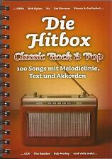 Keyboard Gitarre Noten - DIE HITBOX - Classic Rock & Pop - 100 Songs