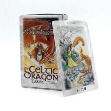 Celtic Dragon Tarot 78 Cards Deck divination fate mystic English desk game gift