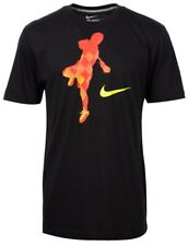 Nike Attack Graphic Lacrosse Tee Shirt Black Extra Large Xl