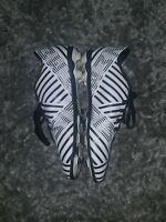 Adidas NEMEZIZ 17.4 SOCCER CLEATS Zebra Print Boys/Girls Size 4.5Y Soccer