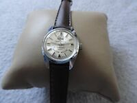 "Wind Up Swiss Made Anderson 17 Jewels Incabloc Ladies ""Gear Jammer"" Watch"