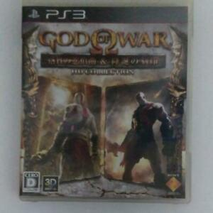 PS3 God of War Chains of Olympus and Ghost of Sparta HD Collection 30808 Japan