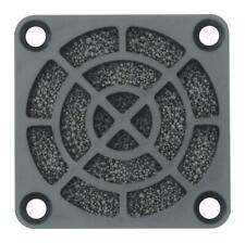 Plastic 40mm Fan Filter Assembly, 45 PPI, PU Foam - MC32688