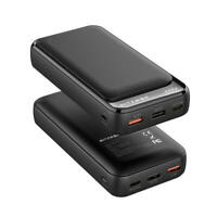 20000mAh Power Bank Portable Charger Universal QC3.0 USB-C PD External Battery