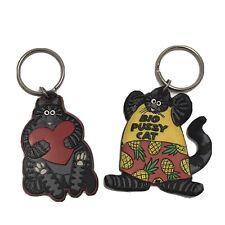 Vintage Kliban Cat Key Chains