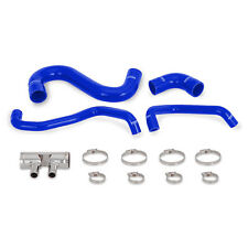 Mishimoto Silicone Lower Radiator Hose - fits Ford Mustang GT 5.0 V8 LHD - Blue