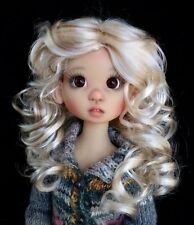 Monique BEA wig 8/9 for 1/3 BJD SD DZ EID Kaye Wiggs Dollmore Luts BLONDE BROWN