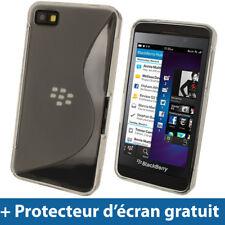 Transparente Funda TPU Gel para BlackBerry Z10 Smartphone Case Carcasa