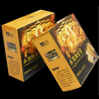 10 Sheets New 100% 24K Gold Foil Leaf Food Anti-Aging Facial Spa Craft