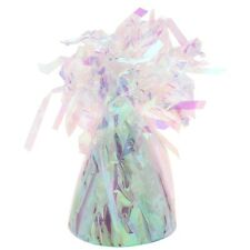 12 x  Helium Foil Latex Party  Balloon Weights - Iridescent