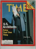 Time Mag U.S. Architects Philip Johnson January 8, 1979 052820nonrh