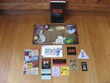 AC/DC - Plug Me In - 3 DVD BOX SET -3 Guest Passes, 4 Concert Tickets +BOOK 2007