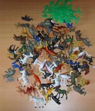 Zootiere Tiere Wildtiere 100 Teile aus Kunststoff Neu