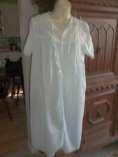 Vintage Carriage Court Sears Cotton Duster Nightgown Size 12/13
