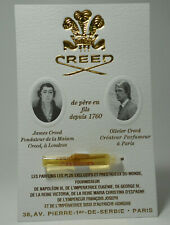 Creed Acier Aluminium  EDP 2ml 0.06oz mens Perfume vial