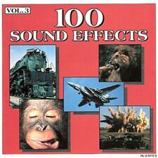 VARIOUS ARTISTS - 100 SOUND EFFECTS VOL.3 - CD, 1993