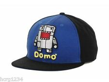 Concept One Domo Robo Logo Flat Bill Snapback Cap Hat  OSFM