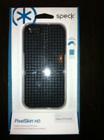 Speck Products PixelSkin HD Rubberized Case for iPhone 5 5s - Black