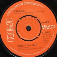 """BACCARA sorry i'm a lady  love you till i die uk rca PB 5555 7"""" WS EX/"""