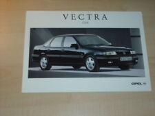 21377) Opel Vectra A CDX Polen Prospekt 199?