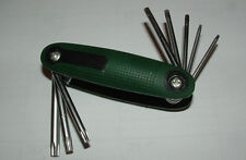 Torx/Star Wrench Set - 8 pc. Fold-up - NEW High Quality - LQQK !!