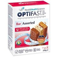 * OPTIFAST VLCD BAR ASSORTED PACK 390G 63G X 6 PACK WEIGHT LOSS HIGH IN PROTEIN