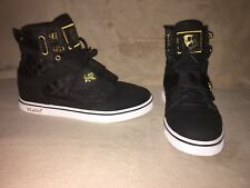 Vlado Black High Top Sneakers Sz 6.5