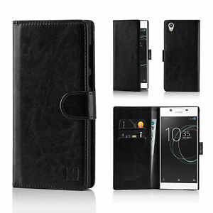 Case Cover For Sony Xperia Experia X XZ3 XA2 XZ2 XA L2 Genuine PU Leather Wallet
