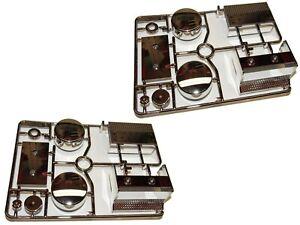 Tamiya TAM56336 1/14 King Hauler Black Chrome Parts Tree R Fuel Tanks & Parts