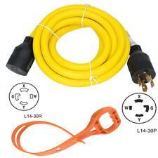 10 Ft Power Cords Nema L14 30 4 Prong Locking 30 Amp Generator Extension Cord