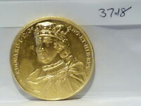 Edward I Dassier RESTRIKE Medallion Kings & Queens of England Series (37.18)