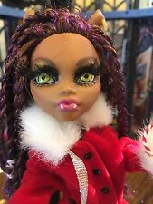 Ooak Christmas Girl Waiting For The Caroling To Start