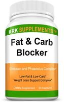 Fat Carb Blocker xp Extra Strength Weight Loss Complex Burn Low Keto Diet Pills